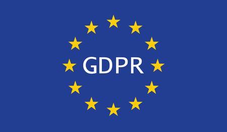 General Data Protection Regulation (GDPR) 向量圖像