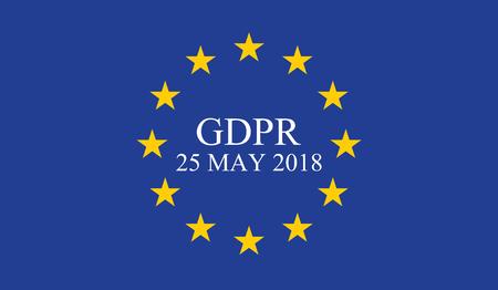 Regolamento generale sulla protezione dei dati (GDPR) Archivio Fotografico - 87928736