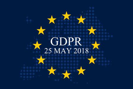 Regulación general de protección de datos (GDPR) Foto de archivo - 90320394