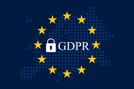 General Data Protection Regulation (GDPR) Vettoriali