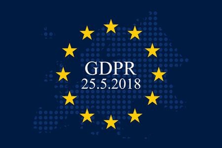 Regulación general de protección de datos (GDPR) Foto de archivo - 90334406