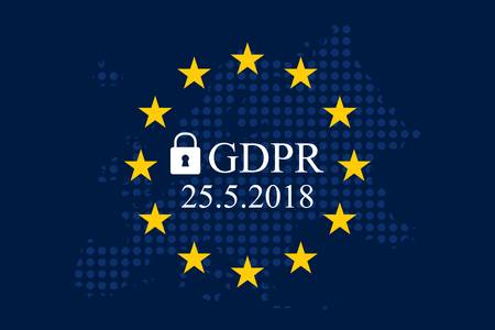 General Data Protection Regulation (GDPR) Иллюстрация