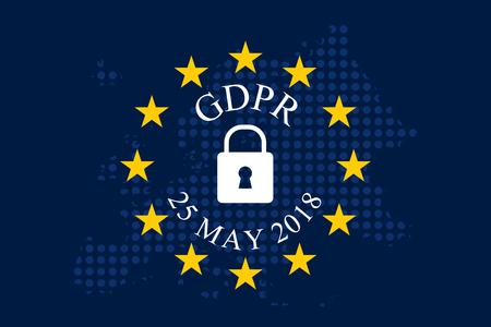General Data Protection Regulation (GDPR) Illustration