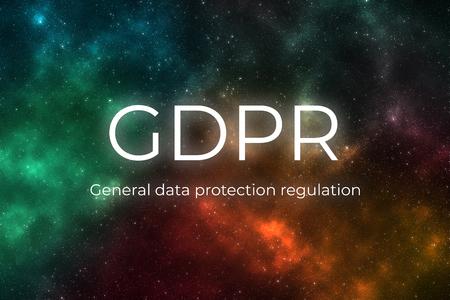 Regolamento generale sulla protezione dei dati (GDPR) Archivio Fotografico - 93814087