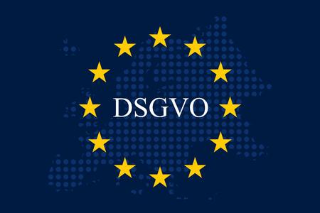 General data protection regulation German mutation: Datenschutz Grundverordnung fur Unternehmen (DSGVO)