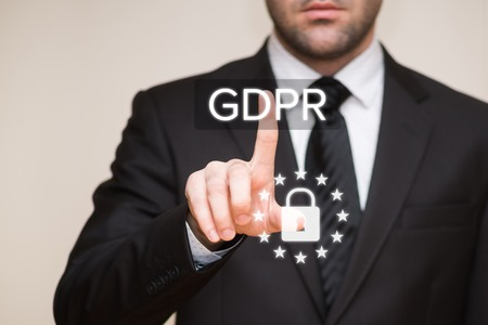 General Data Protection Regulation (GDPR) Archivio Fotografico - 95719786