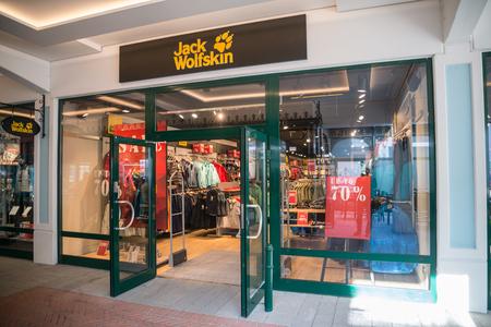 Jack Wolfskin Outdoor Fashion Store In Timmendorfer Strand