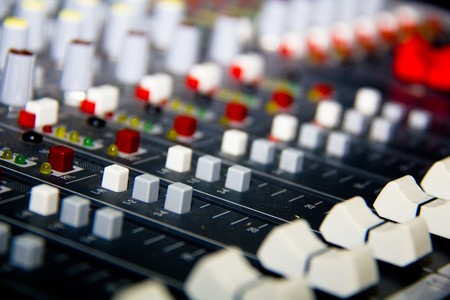 music production: mixer