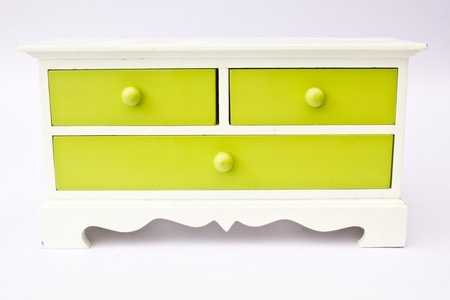 green cabinets Stock Photo - 7534416