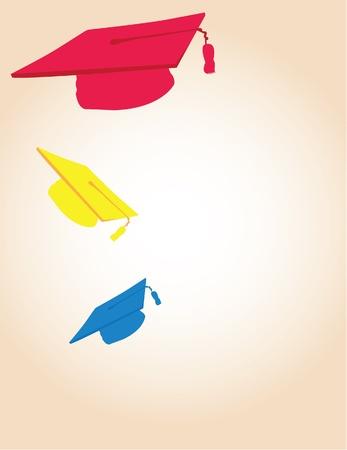 graduates: congratulations Illustration