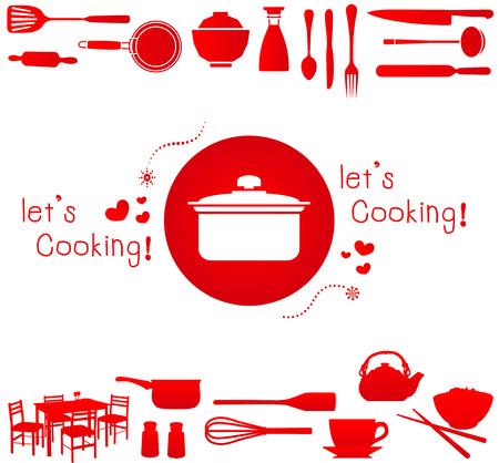 De laisser la cuisine! illustration Banque d'images - 31817556