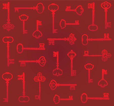 bg: red key bg