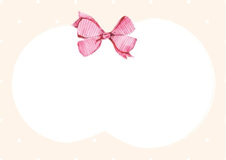 polkadot: Christmas cream polkadot backdrop with white space
