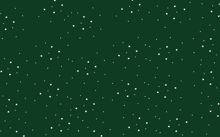 christmas backdrop: classic deep green cute wallpaper with white polka dots
