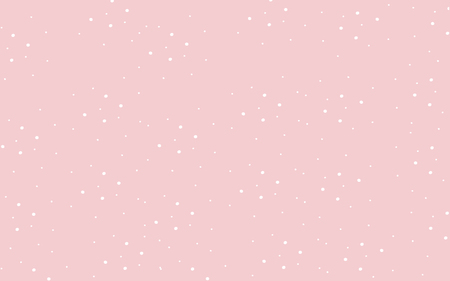 Classic Pastel Pink Cute Wallpaper With White Polka Dots Stock Vector