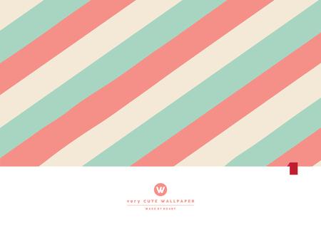 Cute strip line pastel background