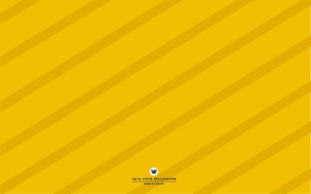 Cute yellow stripe line background.