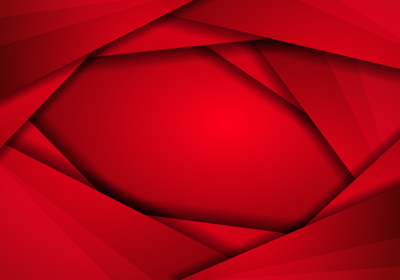Background red metal texture, Abstract metal red with triangle frame layout, mesh pattern design modern luxury futuristic creative idea background vector illustration. Illustration