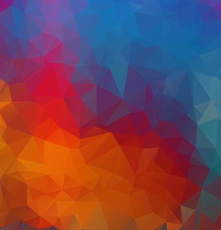 Vector Polygon Abstract modern Polygonal Geometric Triangle Background. Illusztráció