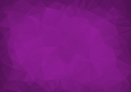 Abstract Dark Purple vector Low poly crystal background. Polygon design pattern. Low poly illustration, low polygon background.