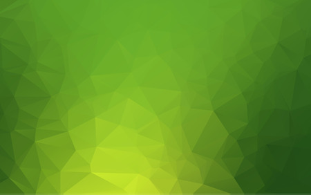 Light green abstract polygonal template. Glitter abstract illustration with an elegant design. The template can be used as a background for cell phones.