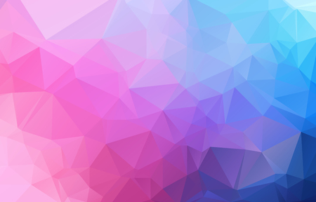 vector abstract irregular polygon background with a triangle pattern in full multi color - rainbow spectrum