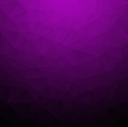 Abstract Dark purple polygonal illustration, which consist of triangles. Geometric background in Origami style with gradient. Triangular design for your business.