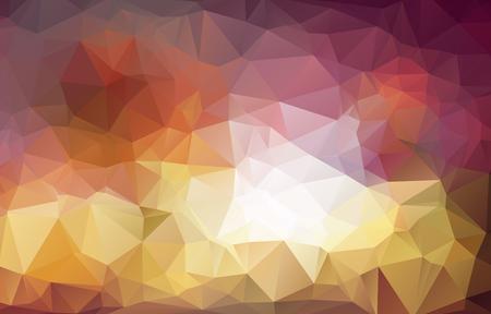 abstract background consisting of triangles Ilustração