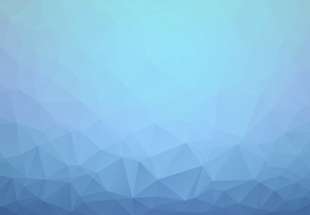 Light BLUE vector abstract textured polygonal background. Blurry triangle design. Pattern can be used for background. Vectores