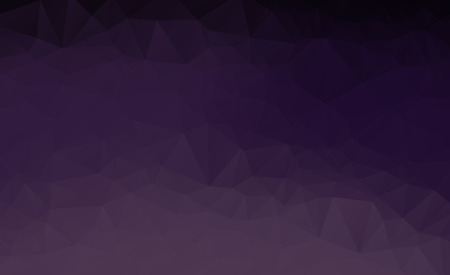 Abstract multicolor dark purple geometric rumpled triangular low poly style gradient illustration graphic background. Vector polygonal design for your business.