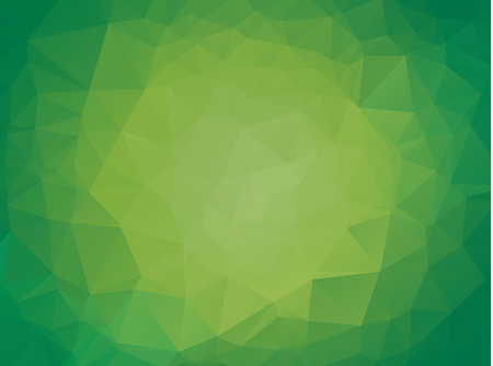 Abstract Light green shining triangular background. A sample with polygonal shapes. The textured pattern can be used for background. Illustration