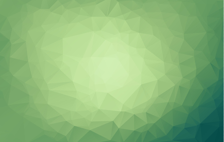 Light Green vector blurry triangle background. An elegant bright illustration with gradient. A completely new design for your business.