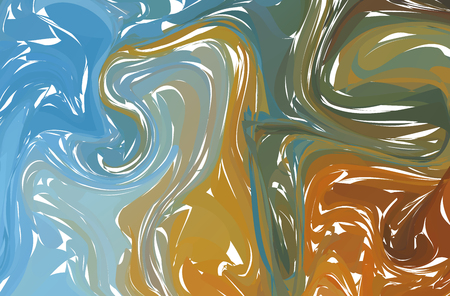 Background or overlay texture of light marble in shades of pastel. EPS10 vector. Fluid colorful shapes background.