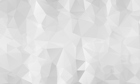 Abstract Light Silver, Gray vector polygon abstract template. Triangular geometric sample with gradient. A completely new template for your business design. Ilustração