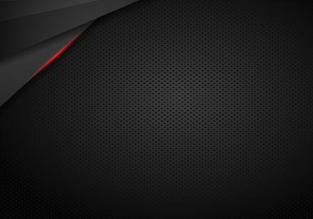 black background vector illustration web design template - Vector