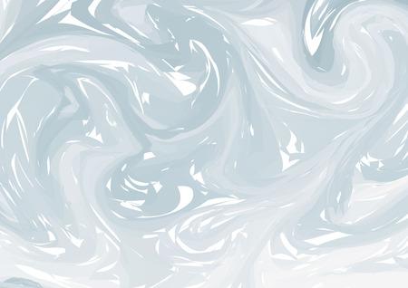 Fond de formes colorées fluides. Gris dégradés à la mode. Composition de formes fluides. Conception de flyer abstrait moderne en marbre liquide tourbillon pour le fond. vecteur Eps10.