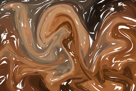Abstract stylized texture brown stone. Vector background