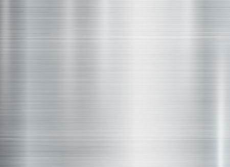 Shiny metal texture background, rectangle style. vector illustration. Illustration