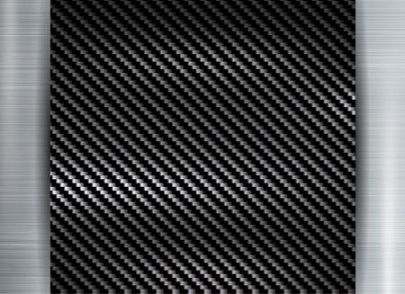 abstract metallic frame carbon kevlar texture on metal texture backgroun.