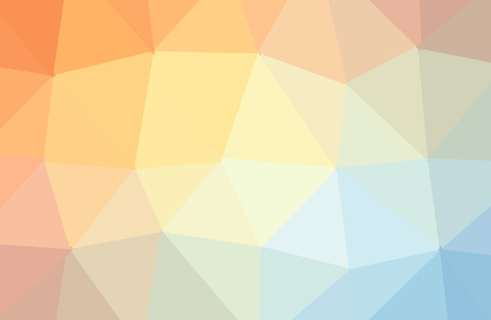 Orange vector abstract textured polygonal background. Blurry triangle design. Pattern can be used for background.