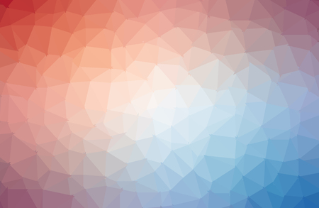 Multicolor vector abstract textured polygonal background. Blurry triangle design. Pattern can be used for background. Vectores