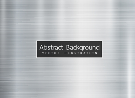 Shiny metal texture background, rectangle style. vector illustration. Copyspace for text. Иллюстрация