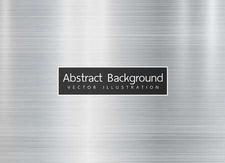 Metal texture background. Vector. Copyspace for text.