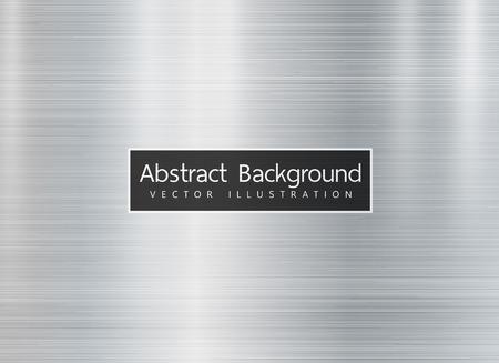 Metal texture background. Vector. Copyspace for text.