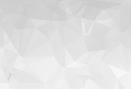 Szary biały geometryczne popsutymi trójkątny niski poli origami styl ilustracja tło graficzne. Wektor wielokątne projekt dla Twojej firmy.