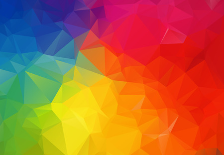 Colorful geometric rumpled triangular low poly origami style gradient illustration graphic background. Vector polygonal design for your business.