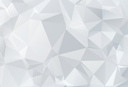Gray White geometric rumpled triangular low poly origami style gradient illustration graphic background. Vector polygonal design for your business.