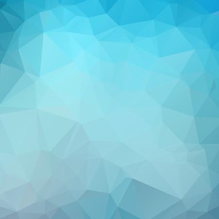 Dark Blue Color Polygon Background Design, Abstract Geometric Origami Style With Gradient Ilustração Vetorial