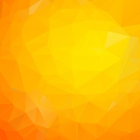 Linee gialle astratte della geometria del triangolo di struttura moderna del fondo Vettoriali