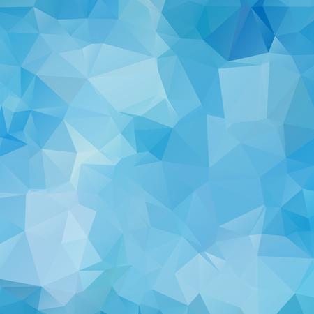 Fondo geométrico abstracto azul, vector de polígonos, triángulo, ilustración vectorial, patrón de vector, plantilla triangular